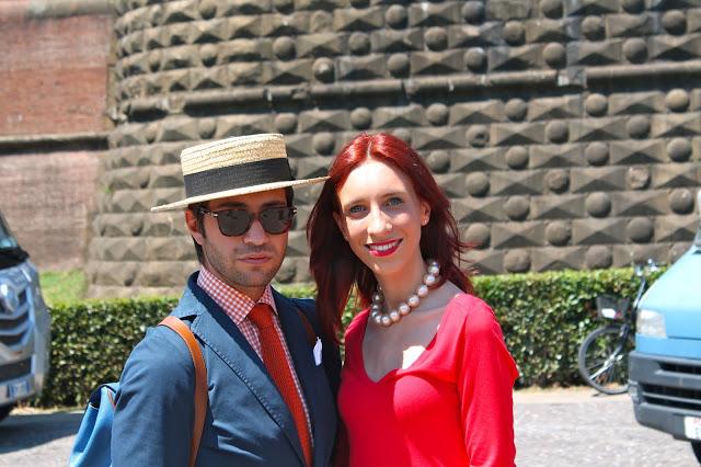 Fashion blogger al Pitti Uomo 84, Firenze 2013