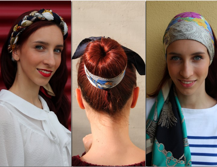 FOULARD, INEVITABLE YESTERDAY AND TODAY