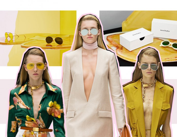 ACNE STUDIOS SUNGLASSES FOR SPRING SUMMER 2015