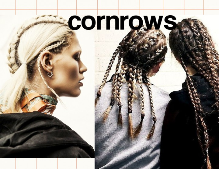 ON MY HAIR: CORNROWS