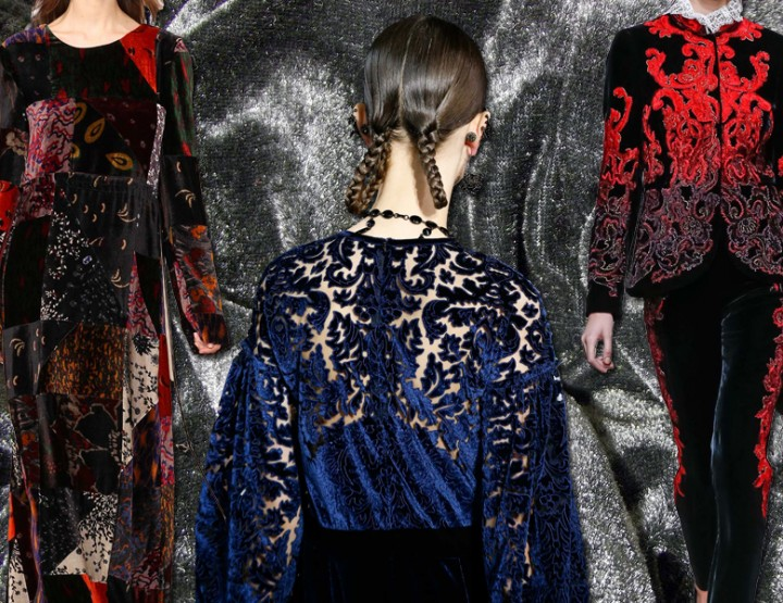 DRESSES AND ACCESSORIES FROM VELVET AUTUMN WINTER 2015-2016