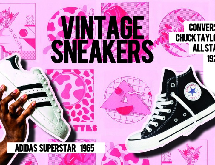 THE SNEAKERS COME BACK. VINTAGE SNEAKERS FOR THIS AUTUMN WINTER 2015-2016