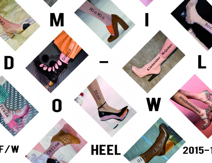 MID-LOW HEEL SHOES FALL WINTER 2015-2016