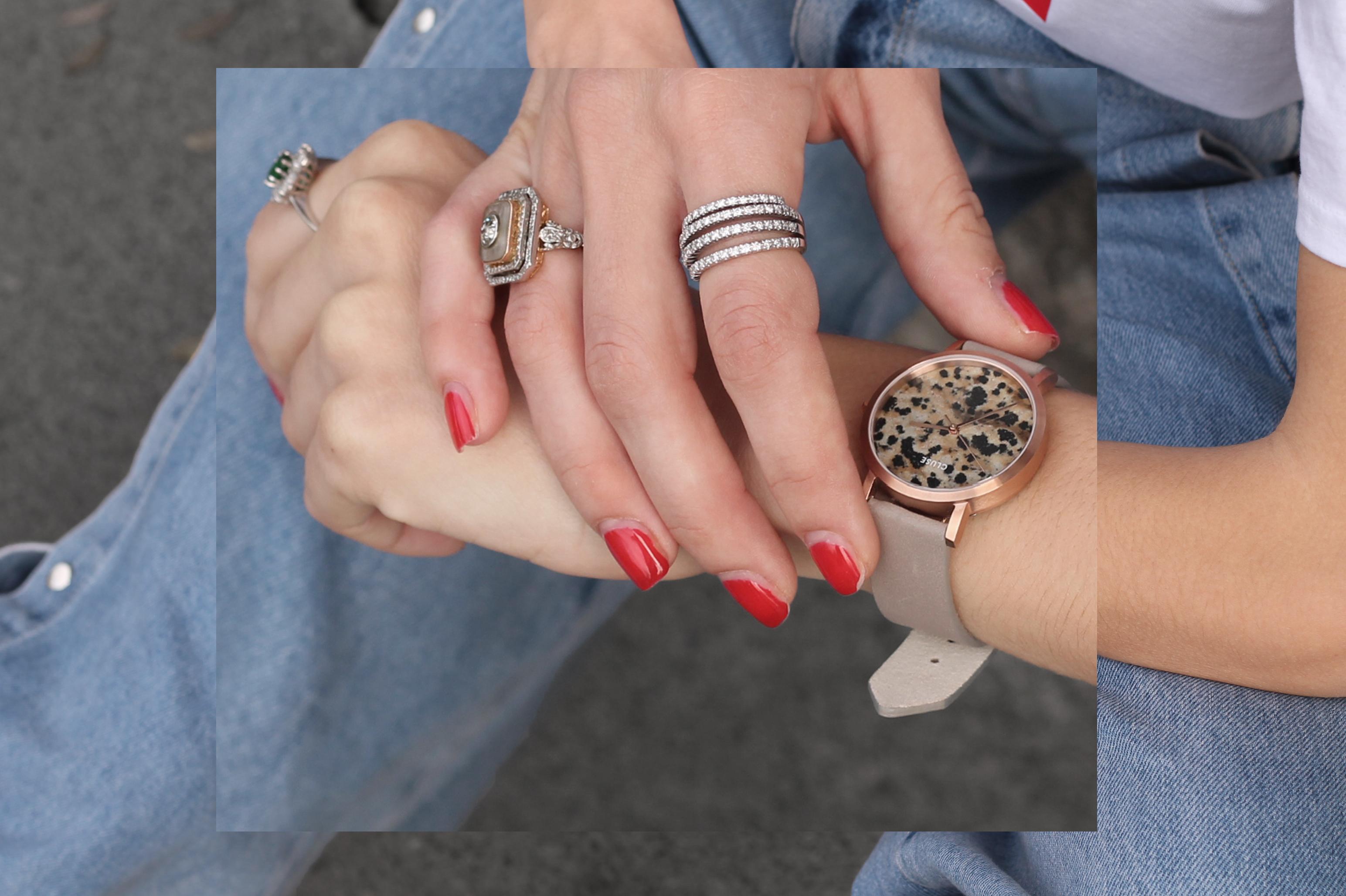 la roche petite dalmatian stone